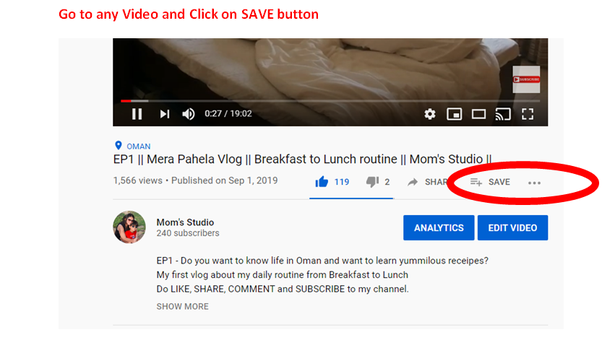 How To Save Youtube Videos In My Phone Gallery Quora