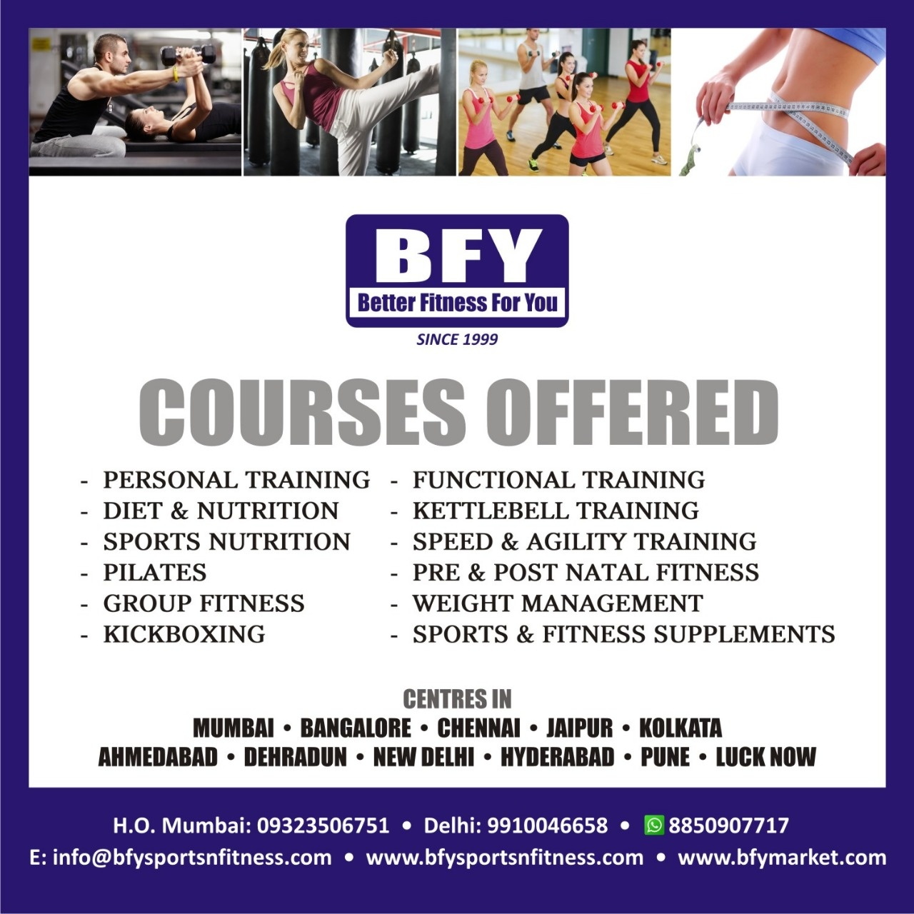 dietician degree in india