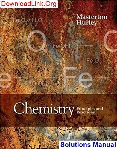 Zumdahl Chemistry Pdf Solution Manual Download