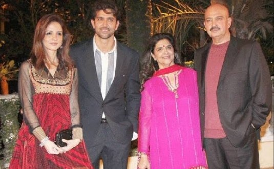 What is the reason behind Hrithik Roshan and Suzzane's