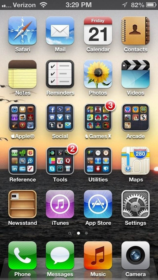 What Is The Best Home Screen Layout On The IPhone?