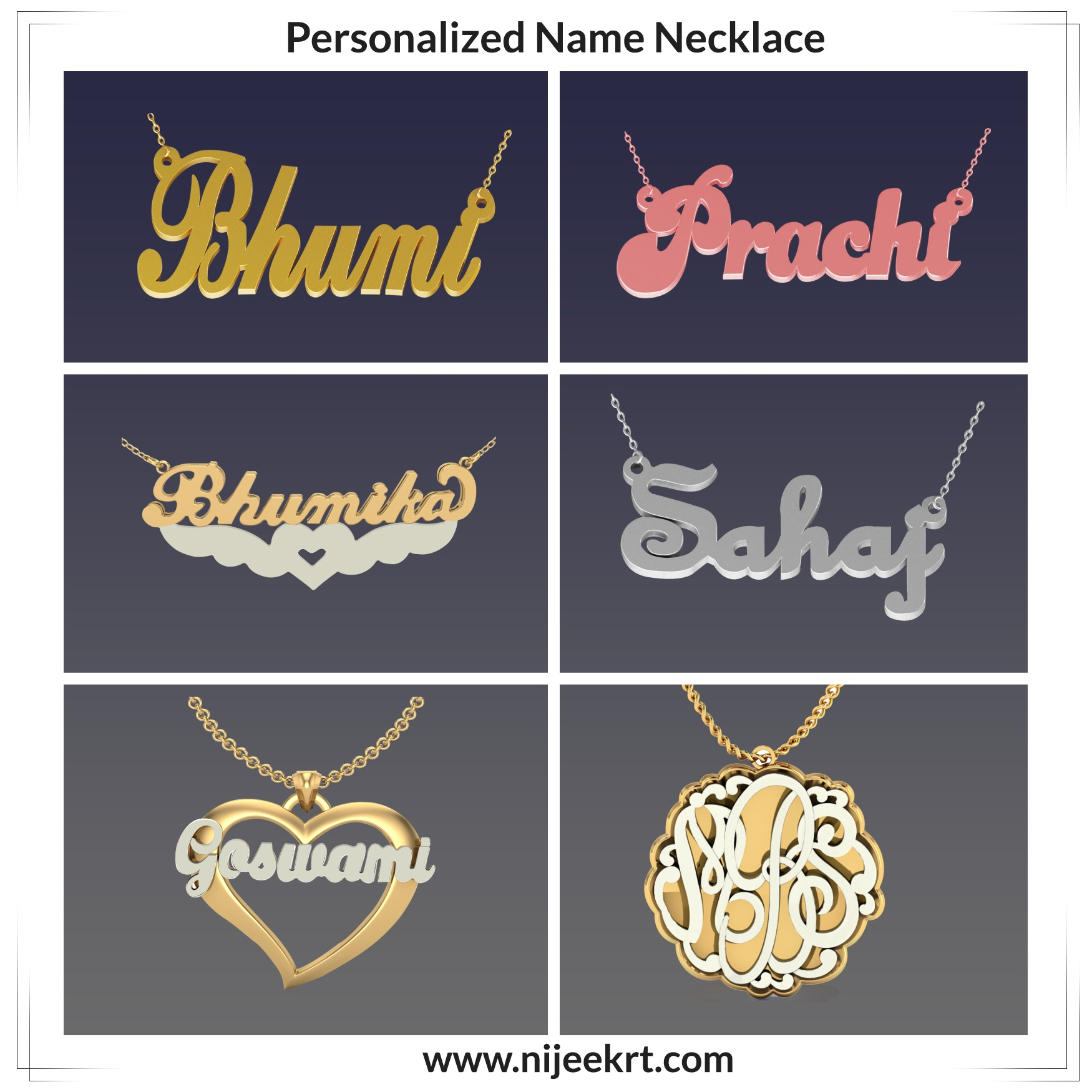 7b9f9e0efc0a8 Would it be okay to get my girlfriend a 'name' necklace with my ...