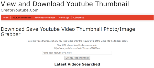 How to download a YouTube thumbnail - Quora