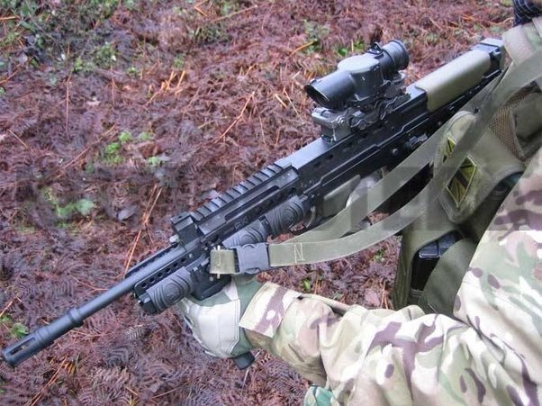 When did the US military change the way they slung their rifles? -