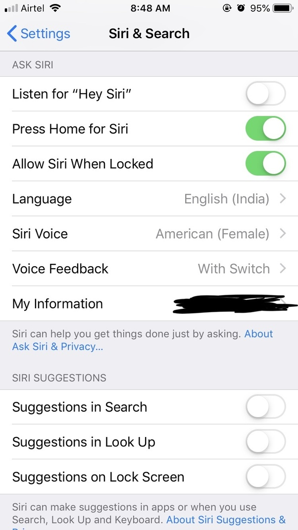 How to disable Siri suggestions on iOS 12 - Quora