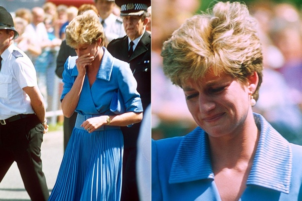 Did Diana, Princess of Wales, ever break down in tears in public ...