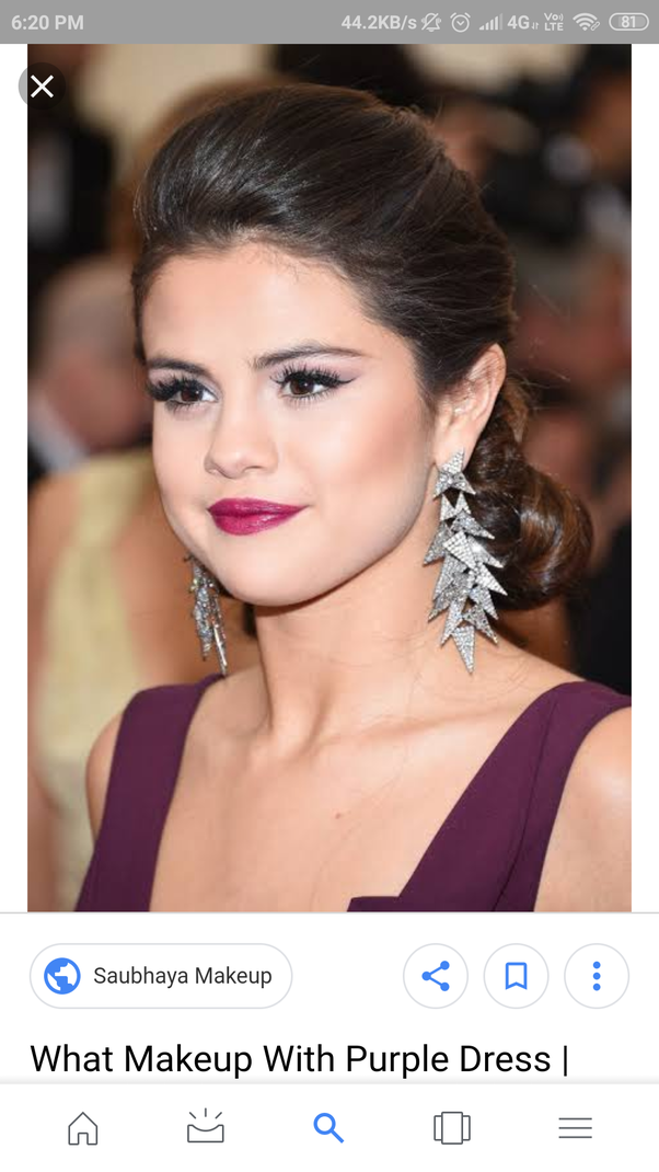 What Lipstick Shade Will Go With Purple Dress Quora
