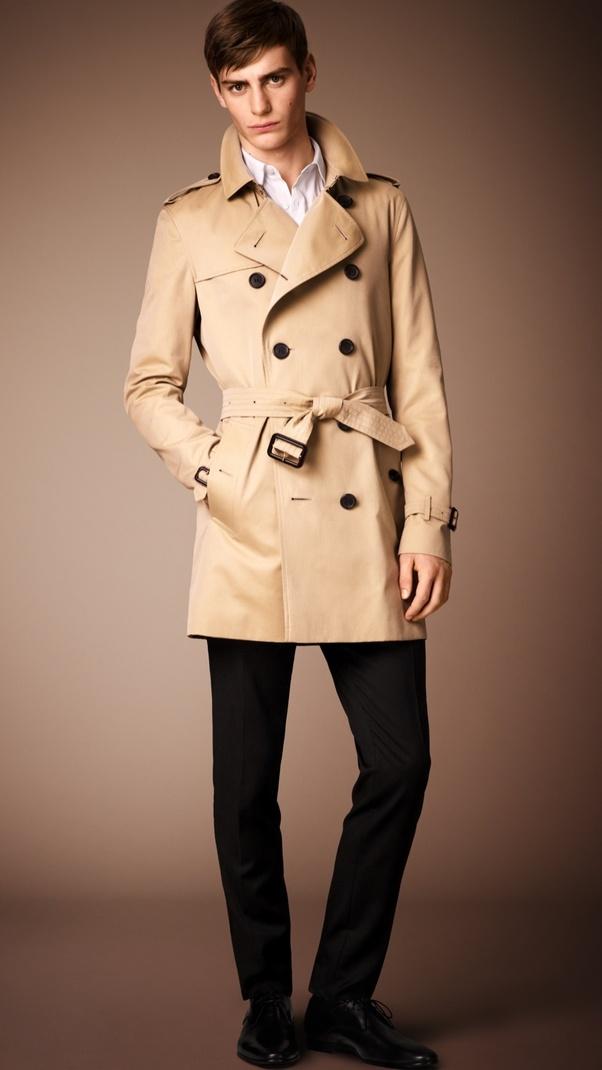 f7898f6af8cb How important is it for a man to own a Burberry Trenchcoat  - Quora