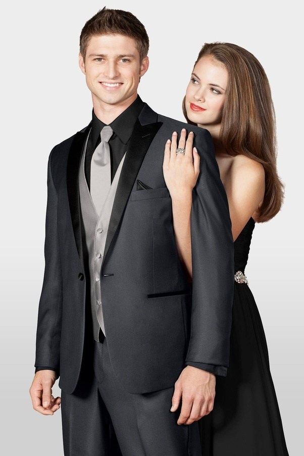 For our high school dance, my date is wearing a black dress and I ...