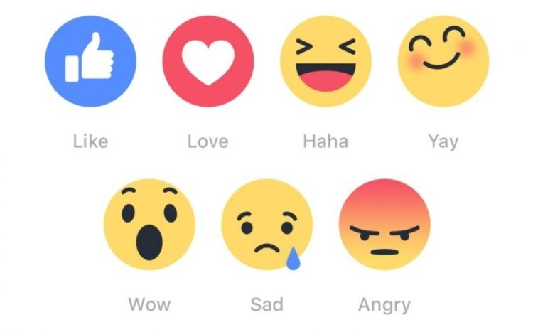 what are the new rules of etiquette for facebook reactions which