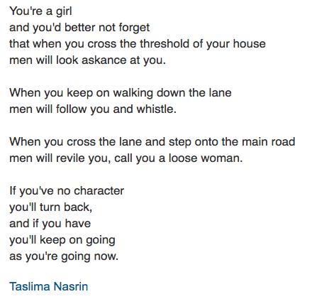 Lajja by taslima nasrin online dating