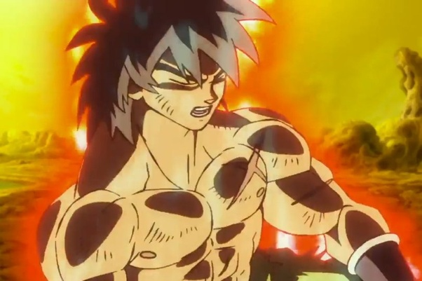 If Broly gained the ability to use God Ki and got a power ...