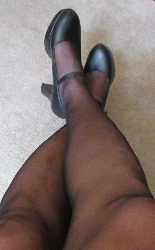 In classy pantyhose doesn t