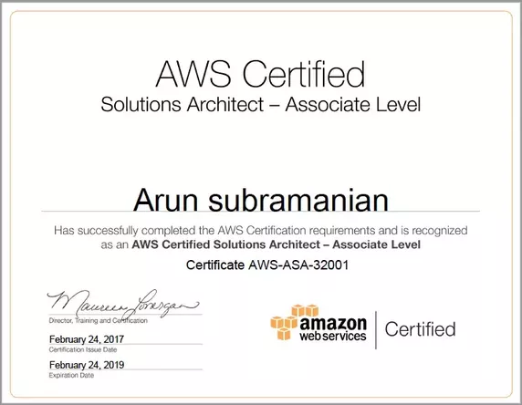how many people in the world passed aws solution architect