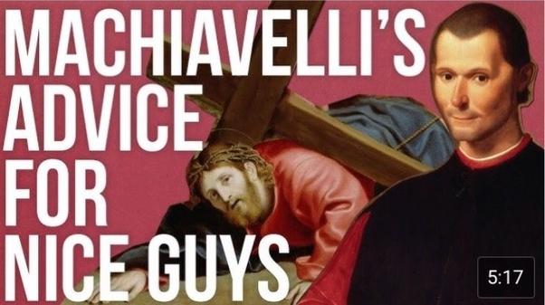 describe machiavellis view of human nature