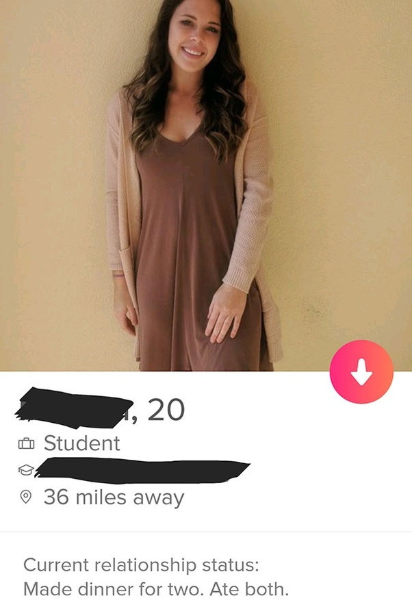 Which were some of the best bios you have read on Tinder? - Quora