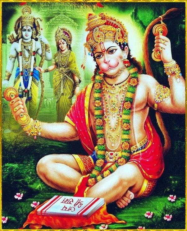 Does Hanuman ji worship Lord Krishna? - Quora