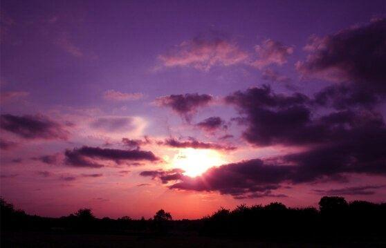 sunset from my window | Tumblr