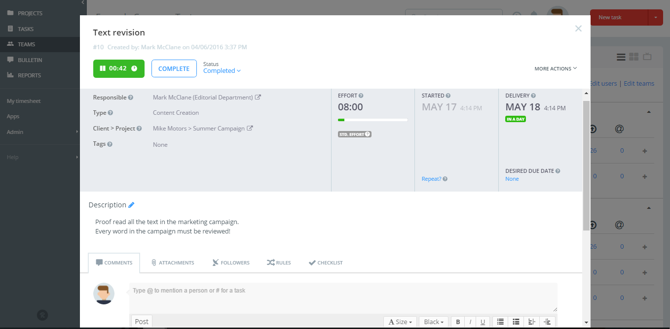 Is there a good task management tool that allows for