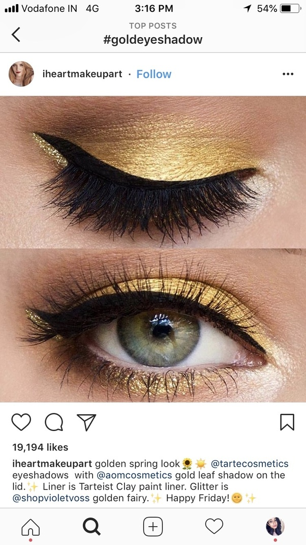 How Should I Do My Makeup When Wearing A Black And Gold Dress Quora