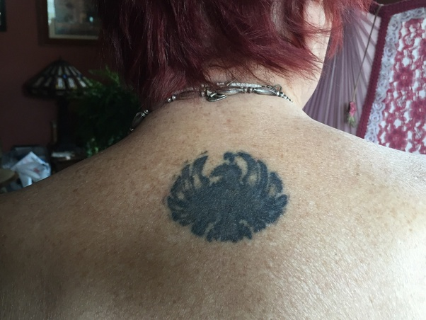 How long do tattoos last before they begin to fade? - Quora