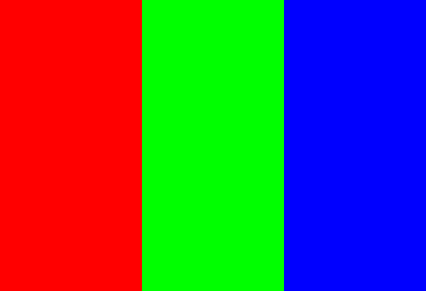 What color does red, blue, and green make mixed together