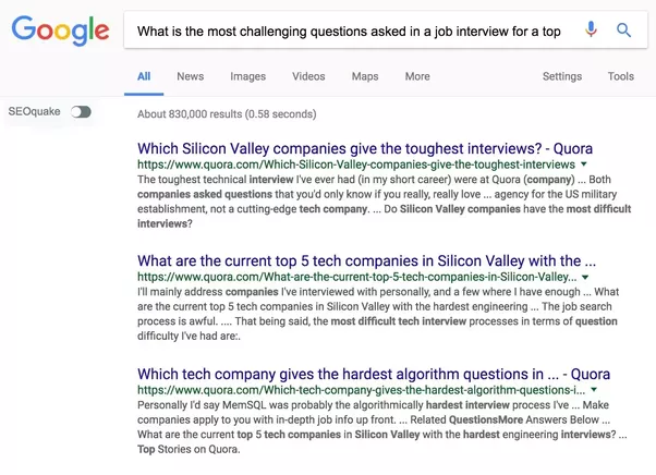 Image result for quora questions on Google