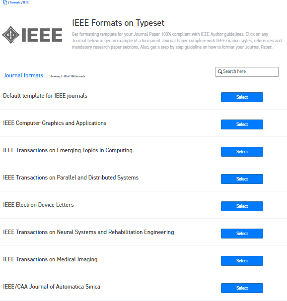 Where can i find the word template for ieee journals for for Ieee latex template download