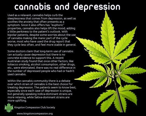 Does cannabis cause depression? - Quora