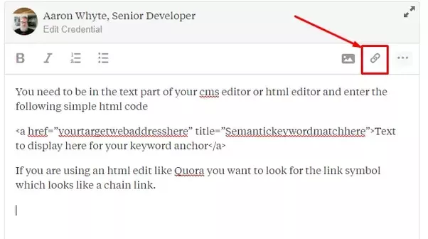 How To Post A Link As A Hyperlink Quora