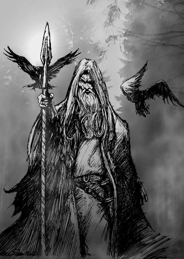 Odins Sacrifice Prints