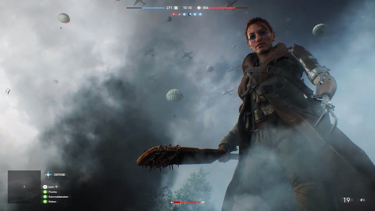 Does Battlefield V look like a cut and paste of Battlefield I? Does