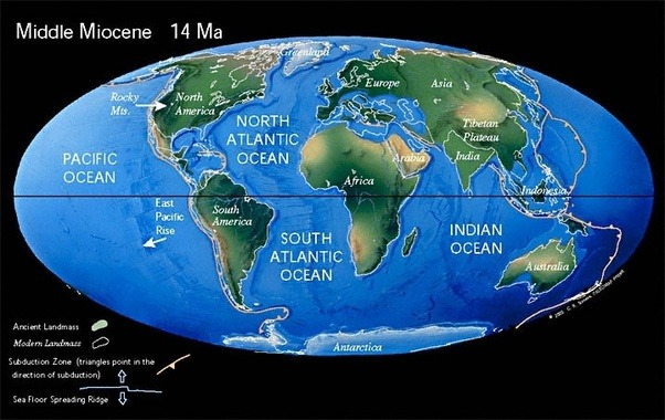 When i visualize a map globe i see that most continents and 250 my in the future gumiabroncs Choice Image