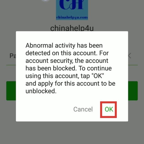 How to unblock my WeChat account easy - Quora