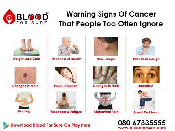 What Are 12 Signs Of Cancer Quora