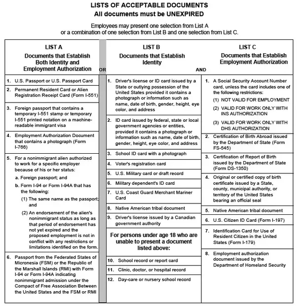 Are you required to show your social security card to get a job? - Fsm I Application Forms on electronic i-94 form, micronesia passport application form, fillable i-94 form,