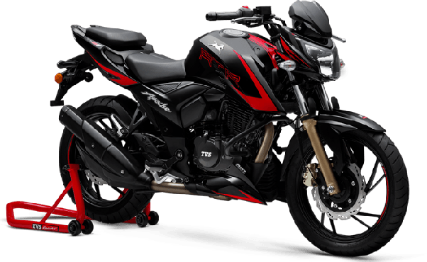 How is the TVS Apache RTR200 4V for touring? - Quora