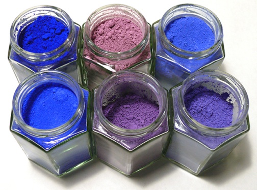 910909a75e7b6 From the same chemical process, one can get colours that range from blue to  violet: