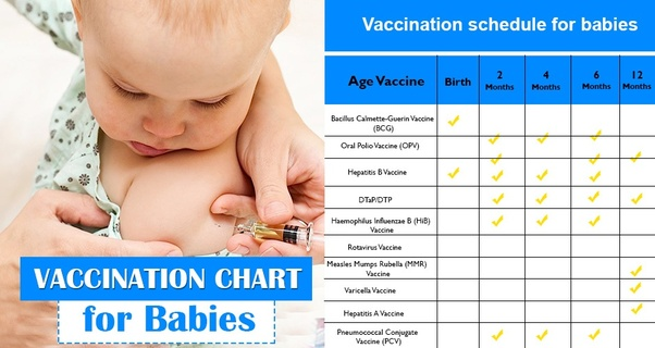 Essential Vaccination Chart For Babies