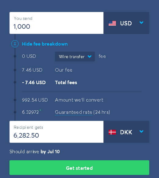 What Is The Cheapest Way Of Sending Money From Usa To Denmark Quora