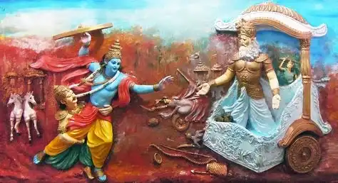 Why Did Krishna Have To Intervene While Arjuna Fought Against Bhishma Was It Simply Because Arjuna Didn T Want To Fight Against Bhisma Was Bhishma A More Powerful Warrior Than Arjuna Quora