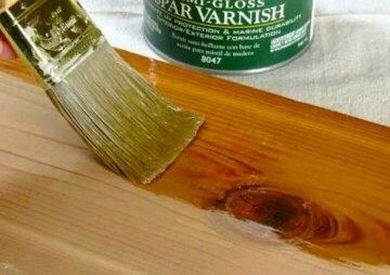 Can we apply varnish, after sanding (instead of paint or polish) to ...