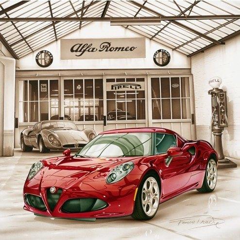 Alfa Romeo 4C(D Class)