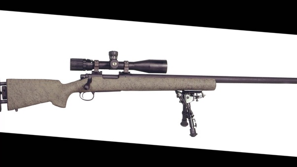 what types of rifles are used by the u s military snipers such as