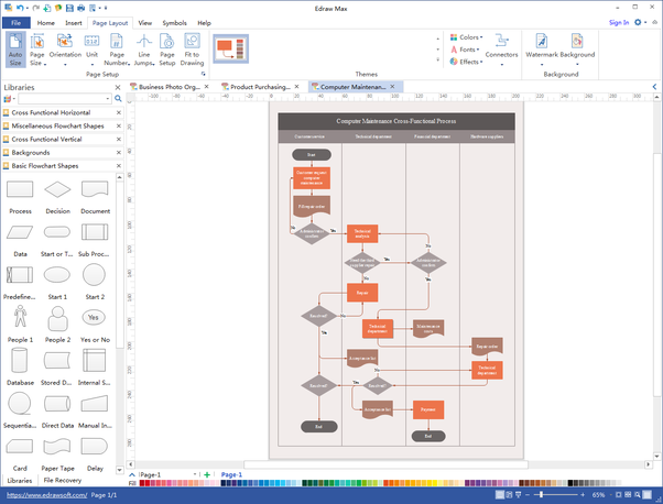 What is the best flowchart cross functional diagramming application download itfree download all in one diagramming software ccuart Gallery