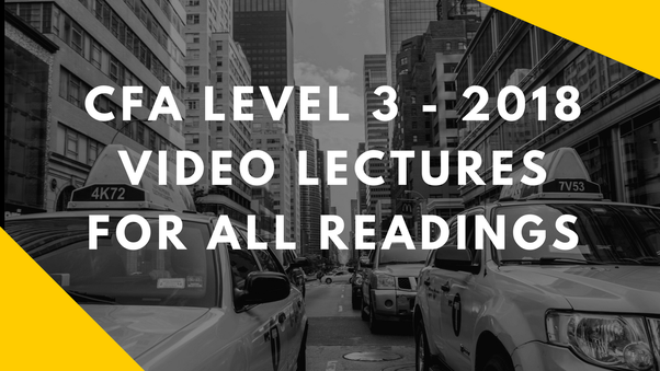 Which are the best videos for CFA level 3? - Quora