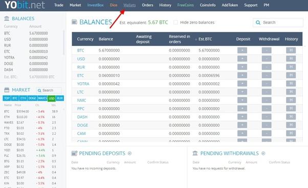 yobit cryptocurrency exchange