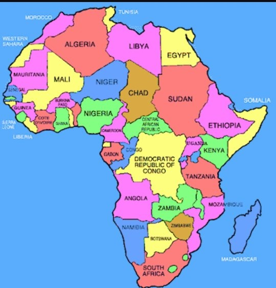Map Of Africa In 1800.Is Egypt In Europe Or In Africa Quora