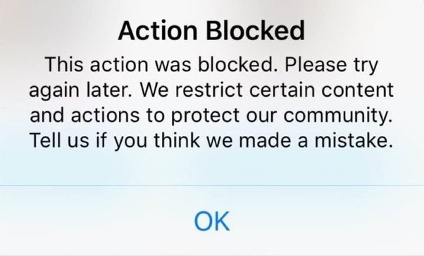 Why did Instagram block me from using DM? - Quora