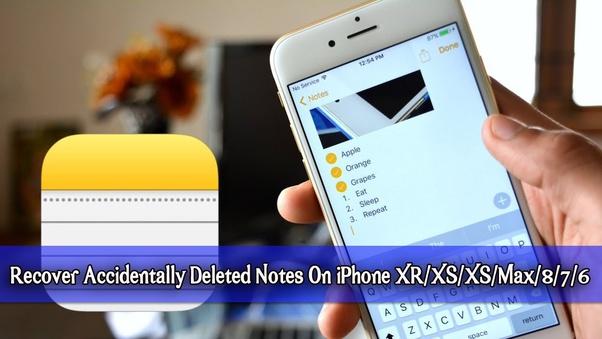 Come recuperare le note su un iPhone